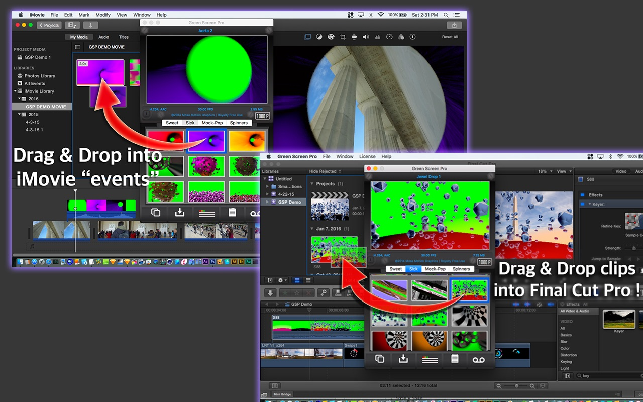 Green Screen Pro: Amazing Motion Effects Collection now in Mac App Store Image